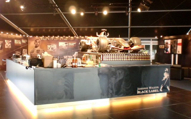 Exhibition Stand, Johnnie Walker Experience, Goodwood Festival of Speed