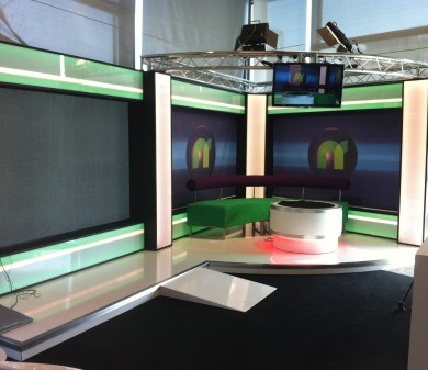 Scenery & Sets, BBC, Newsround Set