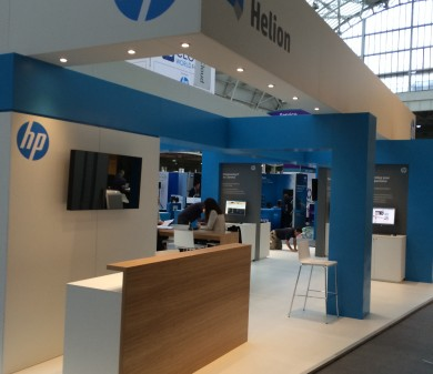 Exhibition Stand, HP, Cloud World Forum