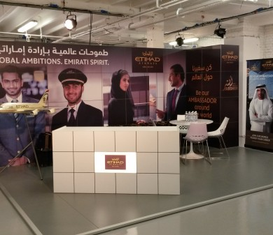 Exhibition Stands, UAE-UK Pioneers Forum
