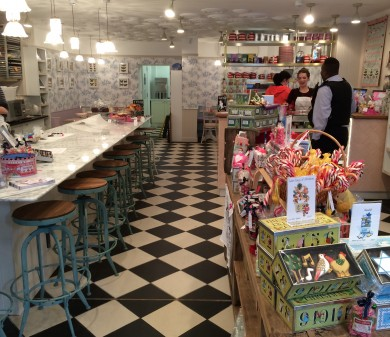 Shopfitting, Biscuiteers, Battersea