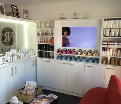 Shopfitting, Review Salon, Waterlooville
