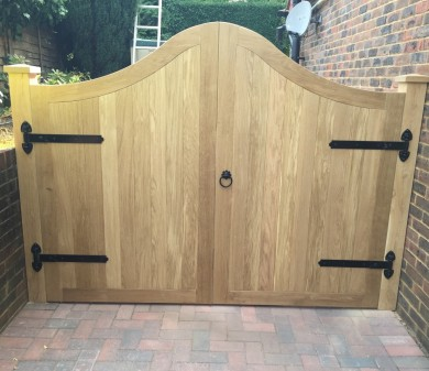 Bespoke Driveway Gates, Private Client