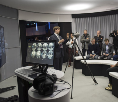 Exhibition & Demonstration Suite, Nokia OZO, The O2