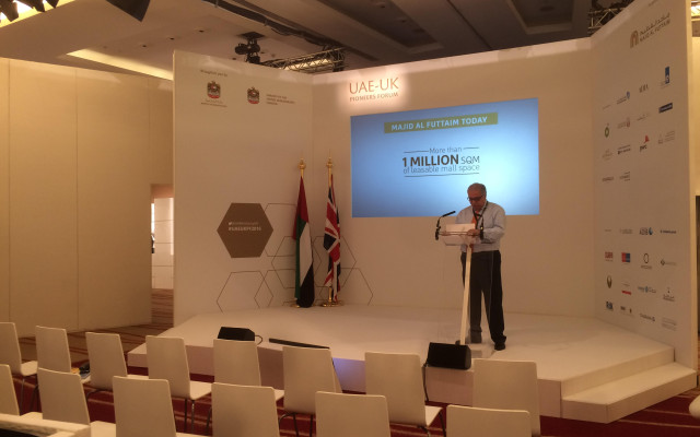 Exhibition Stands & Staging, UAE-UK Pioneers Forum, London