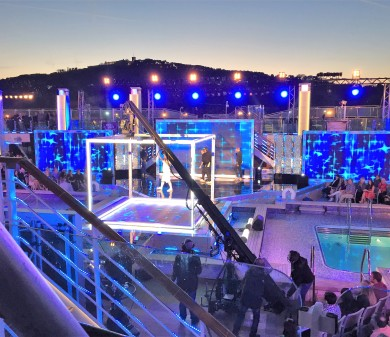 Scenery & Sets, Ant & Dec's Saturday Night Takeaway, P&O's Britannia, Barcelona