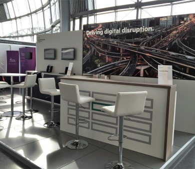Exhibition Stand & Set, Hewlett Packard Enterprise, Strata & BSA Exhibitions