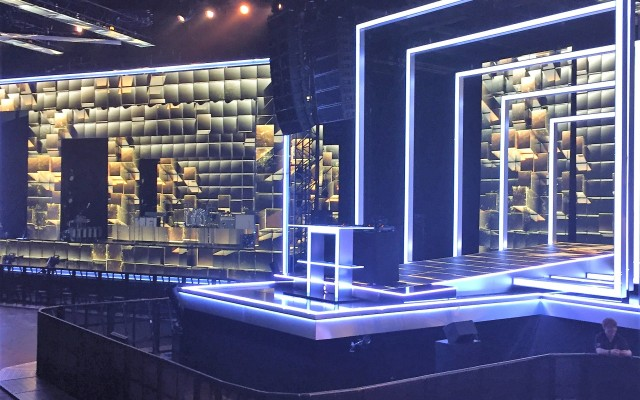 Set & Scenery, BBC Music Awards, EXCEL, London
